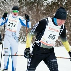 20. Tallinna Suusamaraton - Kaupo Jalasto (66), Kaspar Kaasla (313)