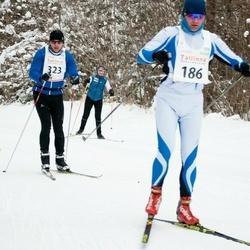 20. Tallinna Suusamaraton - Kaspar Lind (186), Ando Arula (323)