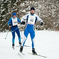 20. Tallinna Suusamaraton - Indrek Karolin (42), Heigo Saar (108)