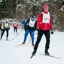 20. Tallinna Suusamaraton - Leho Leimann (263), Jüri Triisa (331)