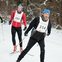 20. Tallinna Suusamaraton - Oskar Kuzmin (295), Helvin Kaljula (314)