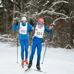 20. Tallinna Suusamaraton - Richard Piho (404), Uku Leipalu (433)