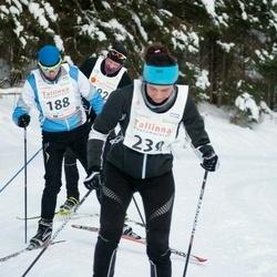20. Tallinna Suusamaraton - Raul Aarma (188), Margus Pauts (439)