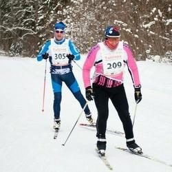 20. Tallinna Suusamaraton - Vello Einland (209), Kuido Karner (305)