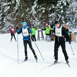 20. Tallinna Suusamaraton - Vello Voolaid (215), Mikk Kalma (245)