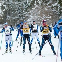 20. Tallinna Suusamaraton - Indrek Lillsoo (218), Indrek Pak (4002), Kaarel Toss (4003)