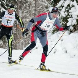 20. Tallinna Suusamaraton - Andrus Kasekamp (14), Üllar Lillmets (28)