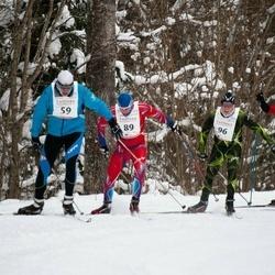20. Tallinna Suusamaraton - Talis Nurk (59), Marek Mägi (89)