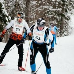 20. Tallinna Suusamaraton - Andres Pae (53), Urmas Jool (62)