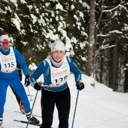 20. Tallinna Suusamaraton - Ermo Veelain (115), Rita Toome (128)
