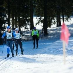 43. Haanja Maraton - Valdek Rohtma (110), Kalmar Karro (132)