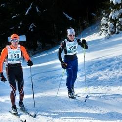 43. Haanja Maraton - Leho Laja (158), Kaarel Piho (390)