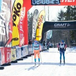 43. Haanja Maraton - Tatjana Mannima (20), Rasmus Pind (88)