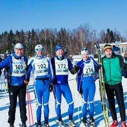 43. Haanja Maraton - Janek Truu (102), Margus Mustimets (169), Jaanus Pulles (172), Sippie Truu (216)