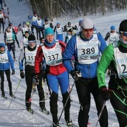 43. Haanja Maraton - Helle Persitski (280), Annika Altoja (337), Peep Nurm (389)