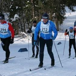 43. Haanja Maraton - Kaido Hanikat (212), Ats Olesk (298), Janek Vana (394)