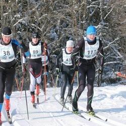 43. Haanja Maraton - Raio Piiroja (38), Norman Pirk (43), Art Kristjan Olesk (89), Karel Nagel (113)