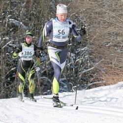 43. Haanja Maraton - Alar Reiska (56), Riho Rebane (386)