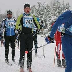 45. Tartu Maraton - Kaimo Maiste (702), Kaido Leiten (747), Artem Derkunskiy (1448)