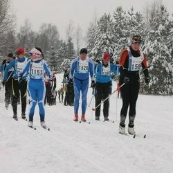 45. Tartu Maraton - Ave Nurk (1151), Märt Volmer (1328), Aare Sepp (1389)