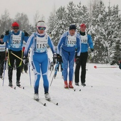45. Tartu Maraton - Ave Nurk (1151), Märt Volmer (1328), Aare Sepp (1389), Mataybaev Vyacheslav (2587)