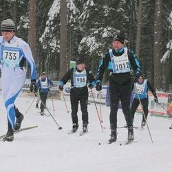 45. Tartu Maraton - Richard Jürgenson (733), Marko Parve (908), Indrek Lindsaar (1795), Andero Safronov (2012)