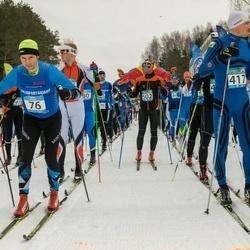 Kekkose 21. suusasõit - Hannes Veide (76), Janis Melbardis (417)