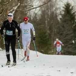 Kekkose 21. suusasõit - Ain Veemees (404), Ivar Heinola (488)
