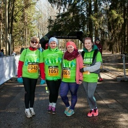 7. Tartu Parkmetsa jooks - Hannele Raaper (1045), Ingrid Saar (1057), Nelli Marii Käppa (1061)