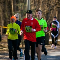 7. Tartu Parkmetsa jooks - Ülo Luuka (68), Annemari Muru (171)