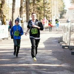 7. Tartu Parkmetsa jooks - Marten Karu (207), Arlis Hunt (308)