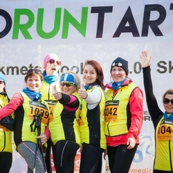 7. Tartu Parkmetsa jooks - Aila Patrason (1034), Sigrid Tohvre (1035), Marika Kall (1039), Hele Sutt (1041), Ene Hennok (1042), Hele Nädal (1044)