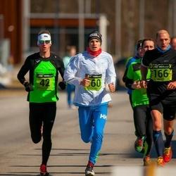 7. Tartu Parkmetsa jooks - Marek Võsu (42), Timo Müür (166)
