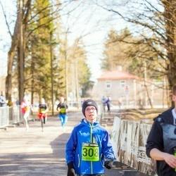 7. Tartu Parkmetsa jooks - Arlis Hunt (308)