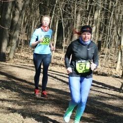 7. Tartu Parkmetsa jooks - Eleri Pähn (57), Anari Pabort (233)