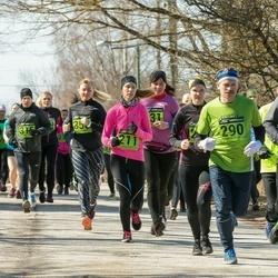 7. Tartu Parkmetsa jooks - Taivo Tera (124), Birgit Barbo (211), Aare Kiik (290)