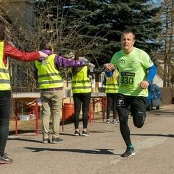 7. Tartu Parkmetsa jooks - Andre Kaaver (330)