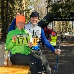 7. Tartu Parkmetsa jooks - Annemari Muru (171), Taivo Kurvits (1019)