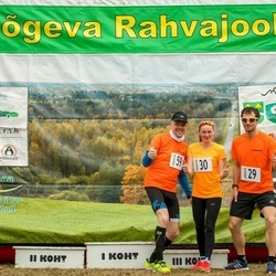 V Jõgeva Rahvajooks - Heigo Hanni (29), Marge Türn (30), Andrus Kivari (59)