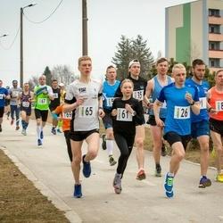 V Jõgeva Rahvajooks - Dmitri Aristov (1), Rauno Reinart (26), Taavi Kilki (35), Luna - Aleksandra Lagoda (61), Eno Lukk (65), Andrus Lein (80)