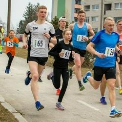 V Jõgeva Rahvajooks - Allar Soo (2), Rauno Reinart (26), Luna - Aleksandra Lagoda (61), Eno Lukk (65), Andrus Lein (80)