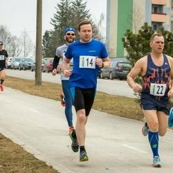 V Jõgeva Rahvajooks - Hannes Vilk (9), Denis Uksov (14), Kaido Saar (22)