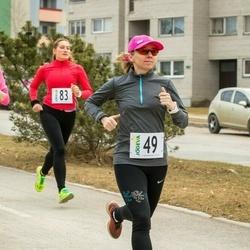 V Jõgeva Rahvajooks - Anu Ehala (46), Margit Maidla (49)