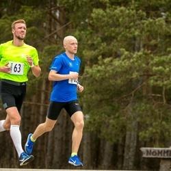 V Jõgeva Rahvajooks - Allar Lamp (62), Olavi Allase (63)