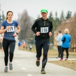 V Jõgeva Rahvajooks - Janek Kasela (16), Britta Kasela (79)