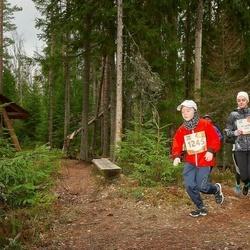 Sportland Kõrvemaa Kevadjooks - Ursula Bastamova (1013), Hugo Narmont (1245)