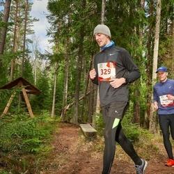 Sportland Kõrvemaa Kevadjooks - Peeter Siitan (216), Erik Pahlberg (329)