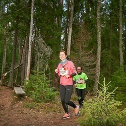 Sportland Kõrvemaa Kevadjooks - Anneliis Vallimäe (261), Rene Vallimäe (262)