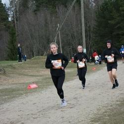 Sportland Kõrvemaa Kevadjooks - Maarja Lauk (1102), Mark Erik Skoglund (1185)