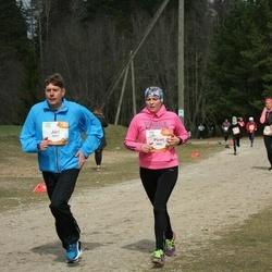 Sportland Kõrvemaa Kevadjooks - Jüri Eek (1017), Piret Kass (1051)